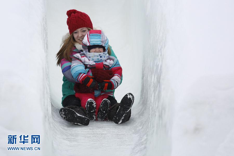 2014加拿大掠影冰雪节视频一建首都教材图片