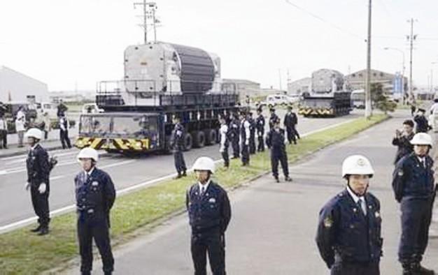 外交部:对日本保有武器级核材料严重关切(图)