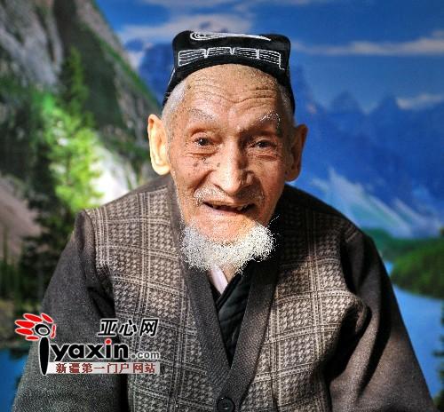 农村老人悼�z#���_乌鲁木齐市百岁老人吐尔逊带过亲人很多孩(图)