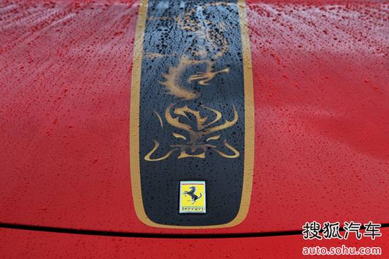 法拉利458中国限量版 高清图片