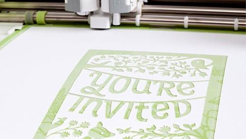 剪出一个童话王国 剪纸打印机新奇上市
