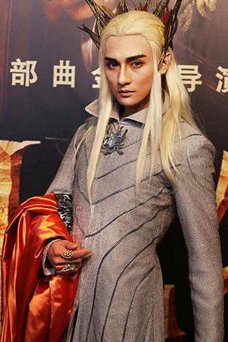 精灵王cosplay