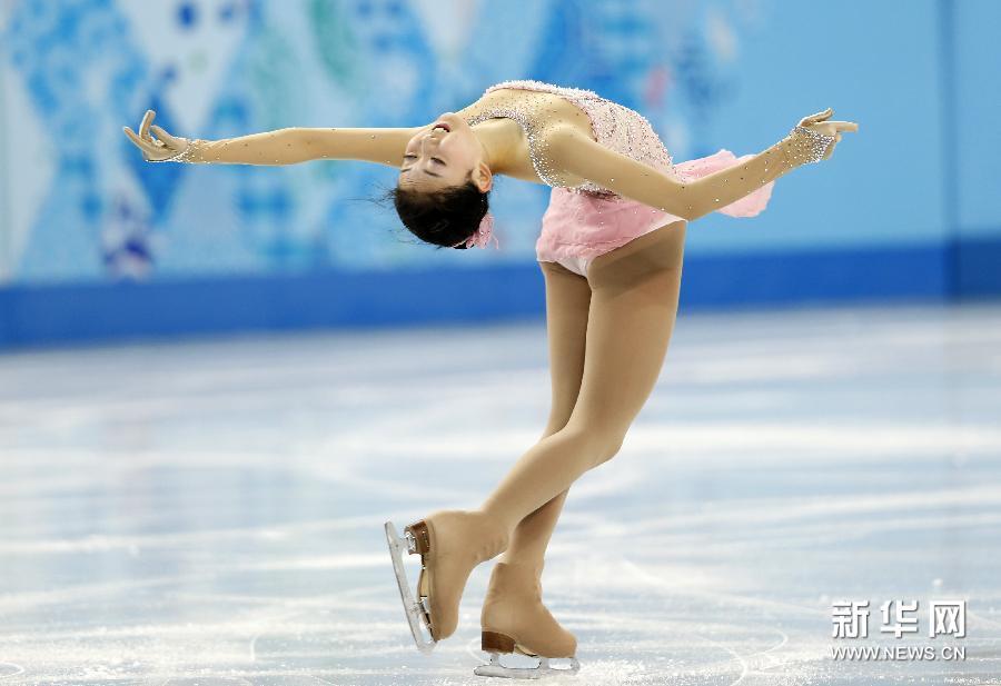在2014年索契冬奥会花样滑冰女子单人滑比赛中