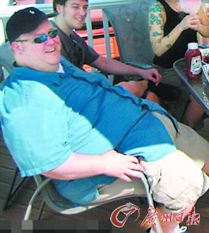 李・乔丹减肥前。