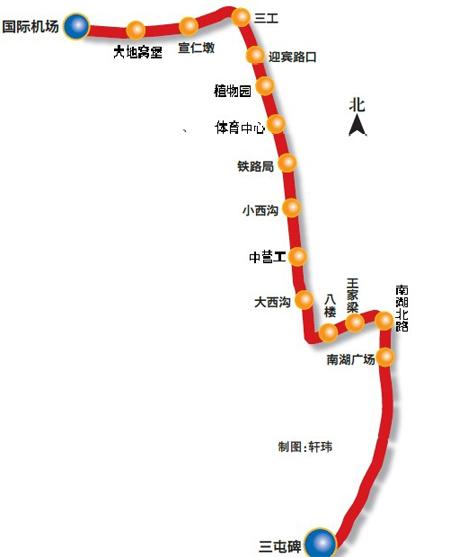 乌鲁木齐地铁一号线将全面施工()(图)