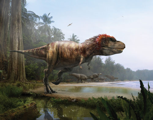 盘点曾统治地球十大恐龙:霸王龙蚕食同类/图(1)_科学探索_光明网