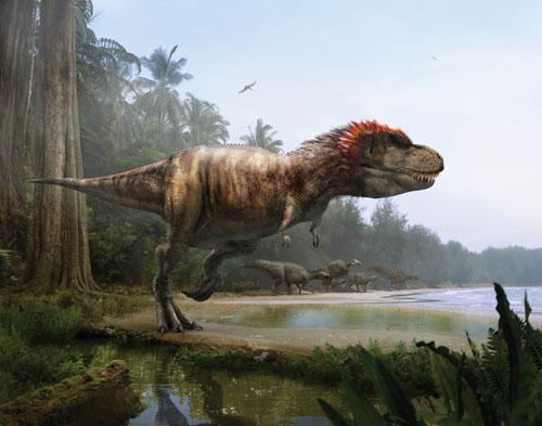 it数码新闻滚动_搜狐资讯    暴龙(tyrannosaurus)又名霸王龙,可能是
