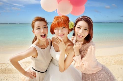 Dream+Girls由左及右:李毓芬、郭雪芙、宋米秦