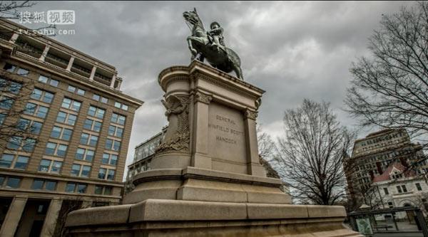 温菲尔德-斯科特-汉考克雕像