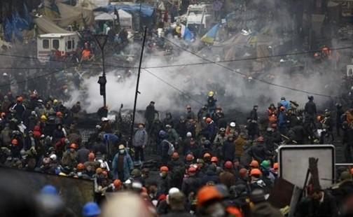 美国警告俄罗斯:若派兵干预乌克兰将会铸大错(图)