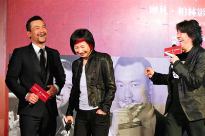 合作过多次的孟京辉、廖一梅夫妇绝对算是廖凡的老熟人。郭延冰 摄