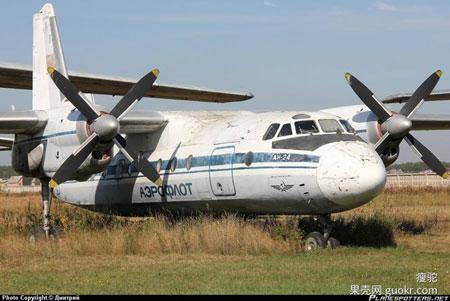 1959年,安-24运输机首飞。