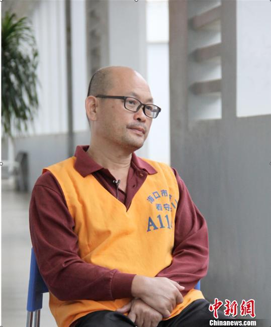 图为原海南省安宁医院院长符永健。 付美斌 摄