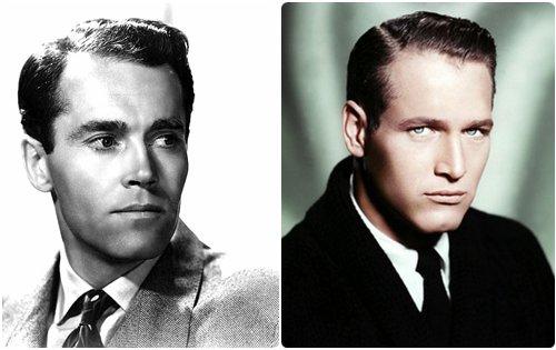 演了一辈子戏的亨利-方达(左)、保罗-纽曼(右)在退休之后才得到奥斯卡。