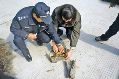 绿化工人挖出248发步枪子弹民警初步鉴定为解放战争