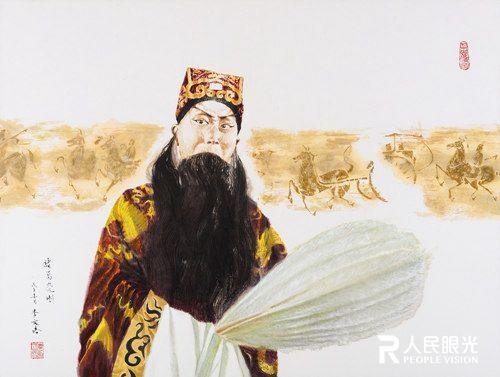 李文培画作:水墨彩京剧相融合的艺术(组图)