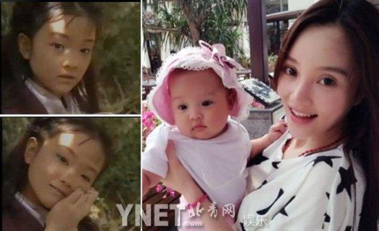 李小璐/《快乐星球》中的首席美女冰柠檬当年就挺漂亮的,非常萌,长大...