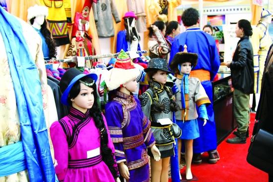 蒙古族儿童服饰(图)