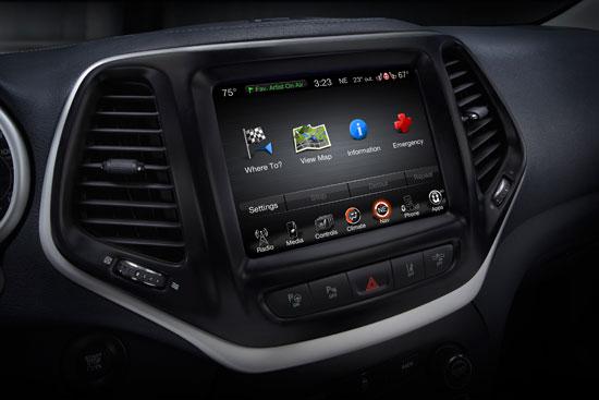 引领新方向 最新一代suv jeep自由光上市 高清图片