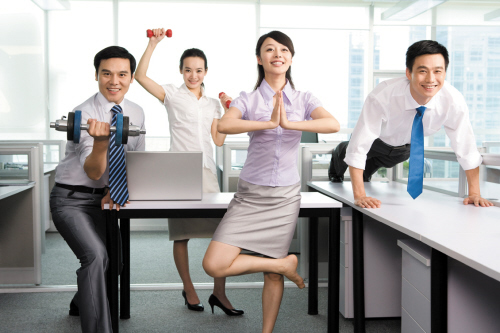 其实办公室有很多微小的减肥运动时候,也减肥你上班的方法轻松埋线.帮助舟山瘦身图片
