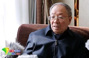 全国政协委员、著名军事专家尹卓。中国青年网记者张炎良摄