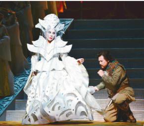 国家大剧院原创歌剧《图兰朵》剧照(中国组)凌风 摄
