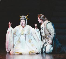 国家大剧院制作歌剧《图兰朵》剧照(外国组) 凌风 摄