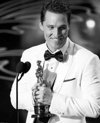 马修-麦康纳转型成功,第一次入围奥斯卡就拿下影帝奖项。