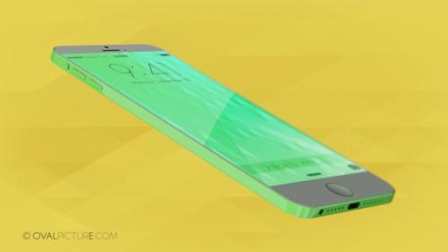 依旧彩色诱惑 iPhone 6c概念渲染图曝光
