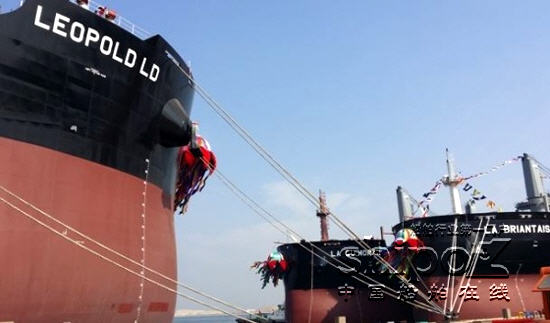 天津新港船舶重工有限责任公司从法国船东louisdreyfusarmateurs