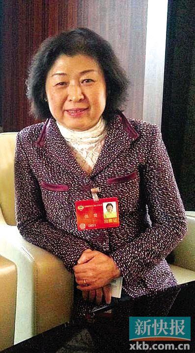 曾多次成为胡润财富榜上女首富的张茵。