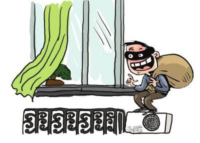 窃贼一晚连作五案从一楼偷到5楼 两年作案70余起(组图