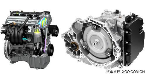 宝骏610将匹配通用gf6第二代6速手自一体变速器,目前该变速箱被应用在图片