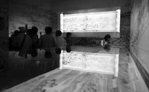 绢本画作《康熙南巡图》残卷在法国拍出天价