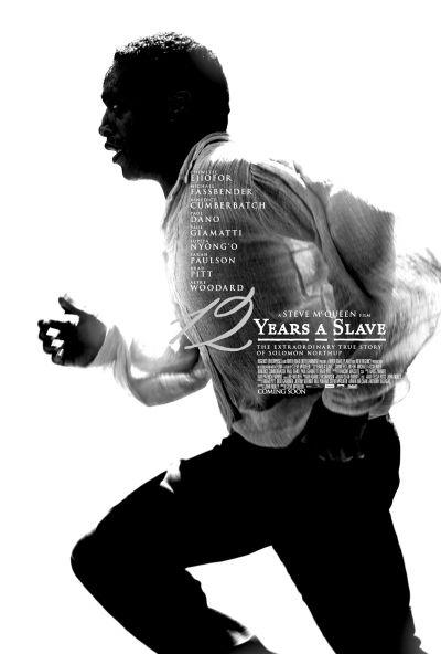 《为奴12年》海报