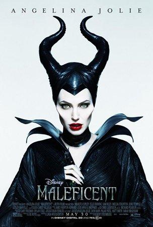 """安吉丽娜-朱莉扮演的恶婆""""玛琳菲森""""。"""