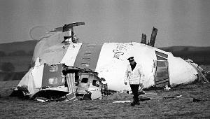 掉落在洛克比的飞机残骸
