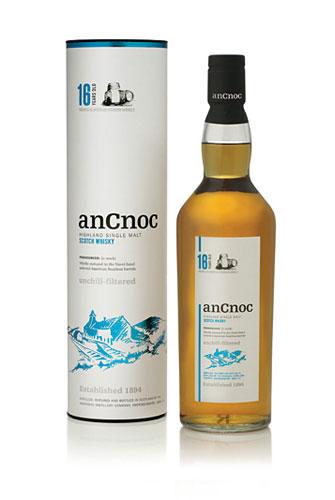 使用波本橡木桶的苏格兰单一麦芽威士忌安努克16年