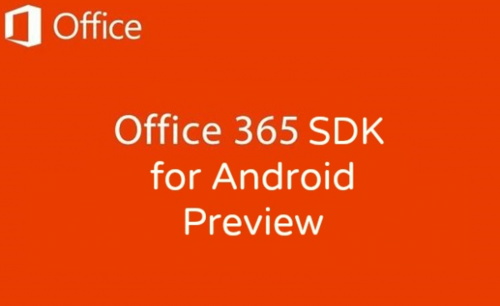 ce 365 Android SDK