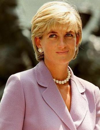 图为已故英国王妃戴安娜.-外媒称戴安娜王妃曾给媒体王室电话簿