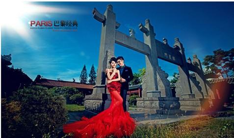 春季成三亚婚纱摄影行业最热季节 巴黎经典可提前预定