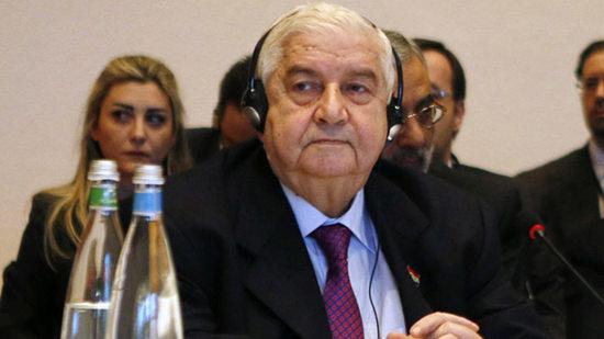 叙利亚外交部长穆阿利姆资料图