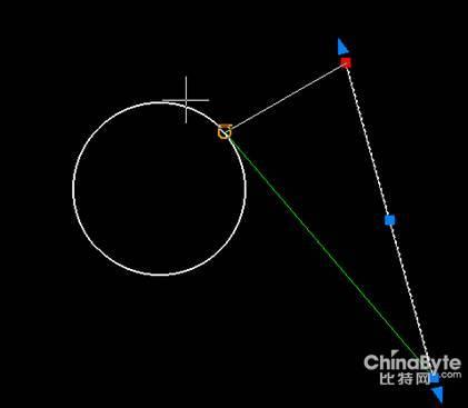 CAXA二维CAD切线:拖拽教程做圆的鞋底(直线组图cad图图片