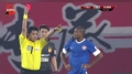 中超视频-多利反击故意手球 染红离场10人迎战