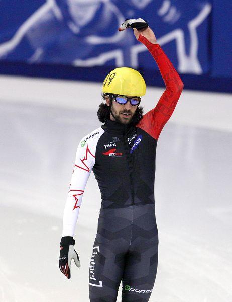 图文:短道世锦赛男子500米 哈梅林再收铜牌