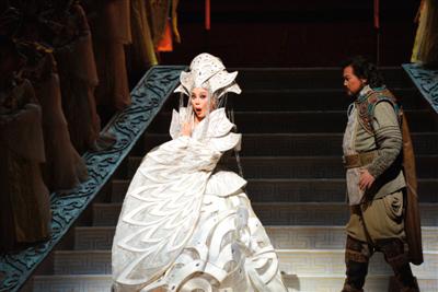 歌剧电影《图兰朵》将于4月16日登陆院线。凌风 摄