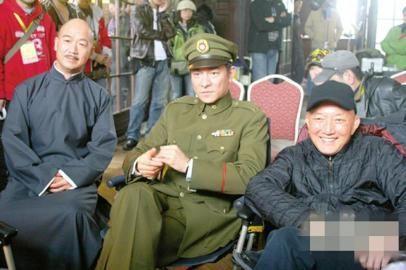 韩三平拍摄《建国大业》