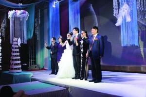 婚礼现场 图片来自网络