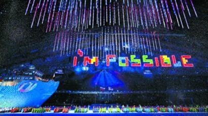 当地时间3月16日,在流光溢彩的焰火下,在孩子们的歌声中,第11届冬季残奥会在俄罗斯索契菲施特奥林匹克体育场闭幕。
