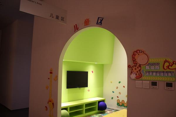 西安泽泰瑞钢现代4S店儿童房区